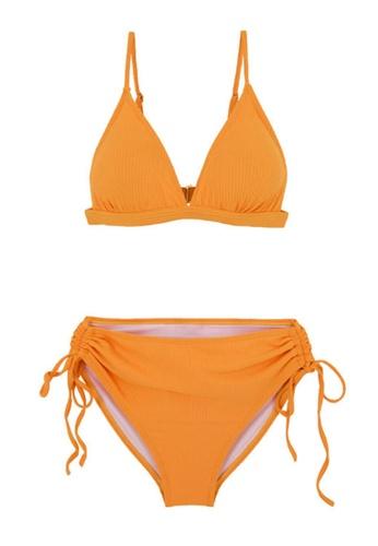 ZITIQUE yellow Women's Classic Bikini - Yellow 0163DUS5DEAFD0GS_1