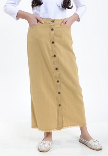 EXIT GIRL yellow Nerissa Skirt FA53CKA5A0D3D0GS_1