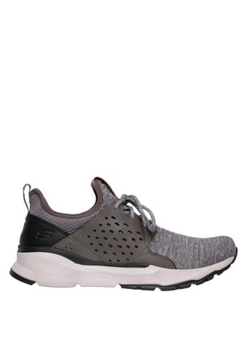 Skechers grey Relven - Velton Sneakers 8BC45SHB42F13AGS_1