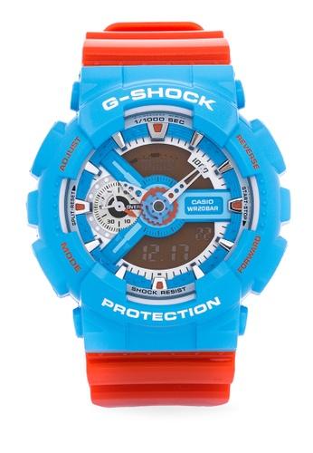 Casio blue G-Shock GA-110NC-2A CA076AC42BMRPH_1