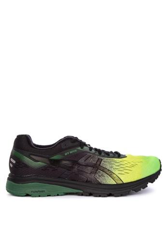 Asics black and multi Gt-1000 7 SP Sneakers B23A4SHB5518B8GS_1