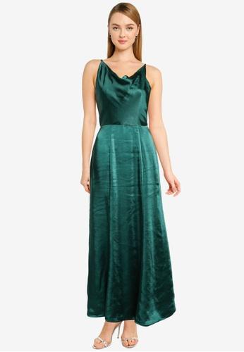 CHI CHI LONDON green Chi Chi Molly-Mae Dress F394DAA3958A07GS_1