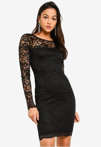 Guess black Guess Glenna Lace Dress 13214AA1CA0F72GS_1