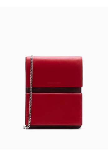 Calvin Klein red Foldover Flat Pack 79264AC4D3BD50GS_1