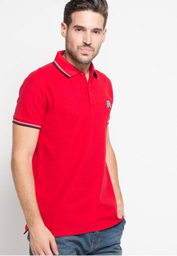 SHARKS red Polo Shirt SH473AA79DQYID_1