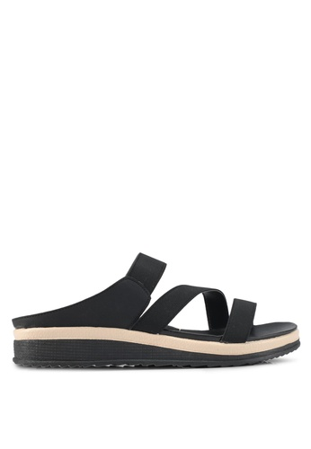 Bata black Mablevi Sandals AC846SHA6F5C69GS_1