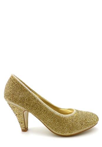 Emily Dillen gold Emily Dillen Fiona Shoes 397-386A Gold EM028SH68WZJID_1