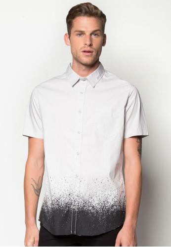 噴彩短袖襯衫, 服飾esprit outlet 桃園, 印花襯衫