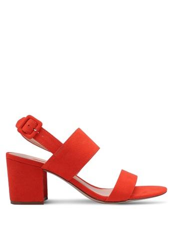 Dorothy Perkins orange Orange Sadie Mid Height Heels C3A4BSH096BB9AGS_1