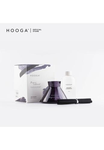 HOOGA Hooga Reed Diffuser Modernist Series Bergamot & Rosewood 8791BHLEDA7B08GS_1