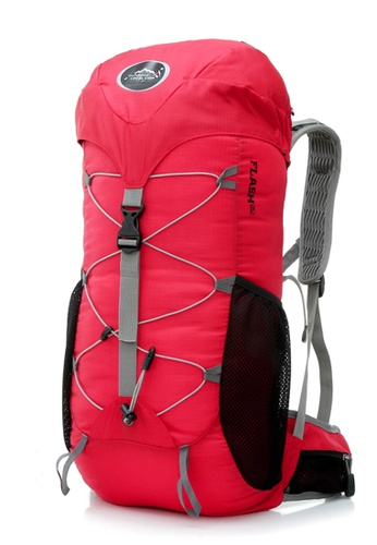 Local Lion red Local Lion Water Resistant Hiking Traveling Backpack Red 35L  LO780AC81FSGMY 1 b3f8cd438c