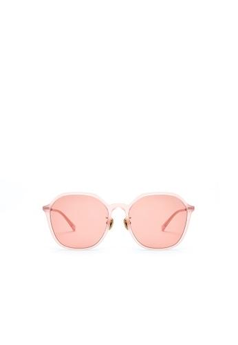 Jill Stuart pink JILL STUART Ariel JS20042 Angular Acetate Sunglasses C555FGLC8CB653GS_1