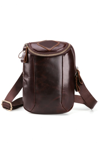 Twenty Eight Shoes Handmade Vintage Leather Sling Bag 6331 A2095ACC1563EDGS_1