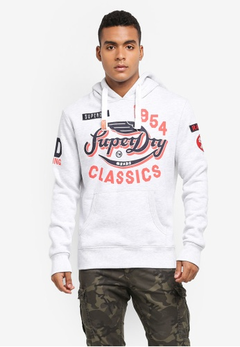 Superdry white Famous Flyers Hoodie 882B1AA095394CGS_1