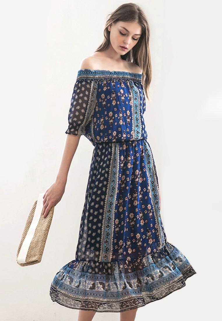 Dreamy Summer Romantic Dress