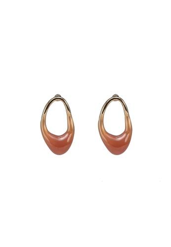 niko and ... pink Irregular Earrings 42E2BAC8A2A94AGS_1