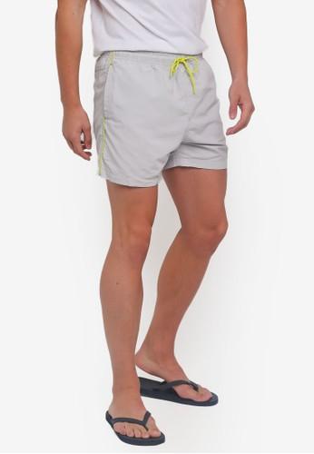 Factorie grey Swim Shorts DBDFCAA26CD908GS_1