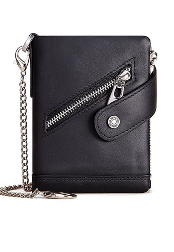 Twenty Eight Shoes Vintage Genuine Leather RFID Security Trifold Wallet BP930 5A13CAC1731114GS_1