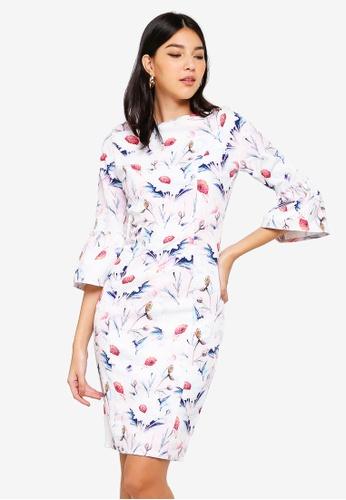 Paper Dolls multi Floral Print Dress AAB73AA1B70B4AGS_1