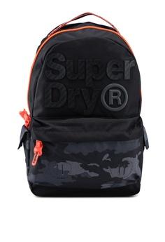 76ef87cc3e8a6 Superdry black Dot Aop Montana Backpack C125CAC3FC6137GS 1