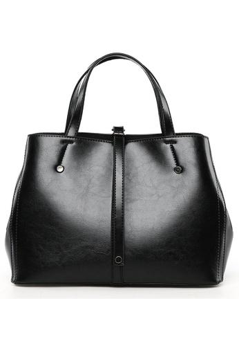 Halo black Vintage Three Way Crossbody Bag 84B40ACA50ABD3GS_1