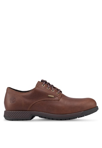 Timberland brown City's Edge Oxford with Gore-Tex Membrane 85D0BSHD2AC2E3GS_1