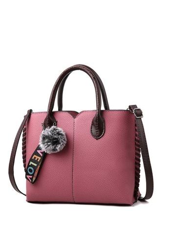 e9d57c9bb58 TCWK pink TCWK Korea Style Women Fashion Ladies Handbag - Dark Pink  5C787ACB4C1F9CGS 1