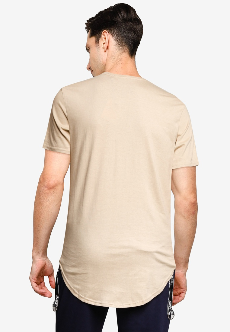 Curved Factorie Tall Tee The Almond qdOntFxgW