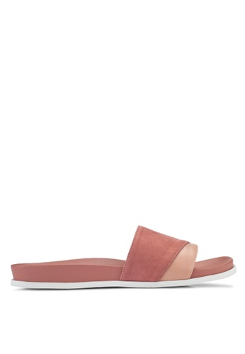 ZALORA pink Two Tone Sliders EFDA6SHA3F91F4GS_1
