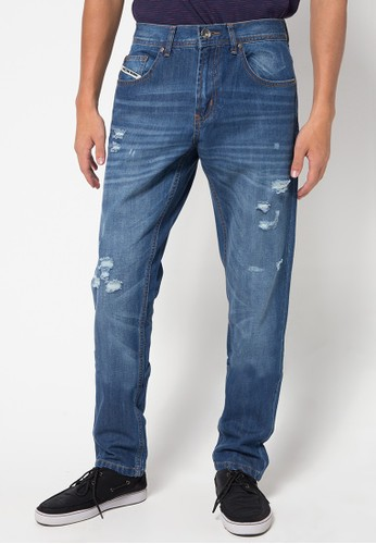 DocDenim blue Man Jeans Evoque Ripped 98DC7AAD755216GS_1