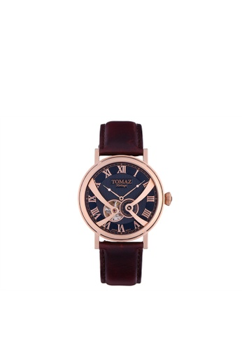 Tomaz Tomaz Men's Watch TW015 (Rose Gold/Blue) 6493FAC9AAA157GS_1