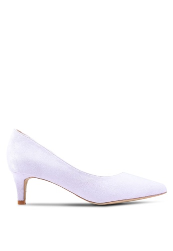 2f38d6719a3 Shop Nose Pastel Colour Low Heel Pumps Online on ZALORA Philippines