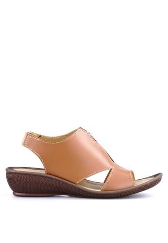 Ghirardelli brown Ghirardelli Sandal Celestia - Brown GH325SH0V2IRID_1