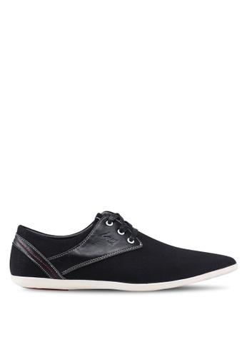 Louis Cuppers black Casual Derby Shoes 1D7BASH889E02CGS_1