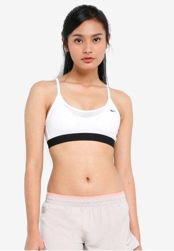 Nike black and white Women's Nike Indy Cooling Sports Bra 0EAE7US884FE67GS_1
