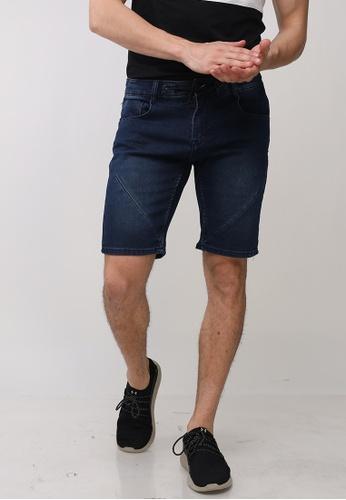 Ego blue Denim Shorts Regular Tapered 42FD9AA13270AFGS_1