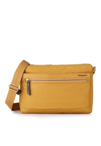 Hedgren yellow Eye M Sling Bag CF1BAAC1EEF08AGS_1