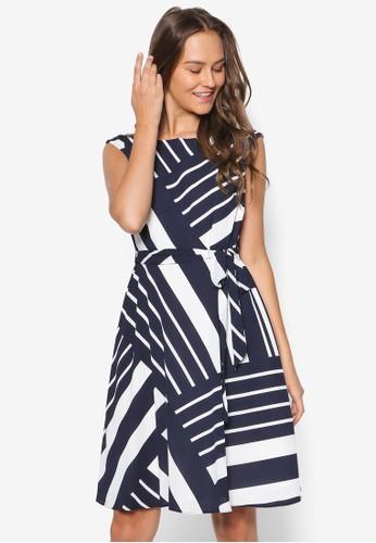 Petitesprit 品牌e 色塊傘擺洋裝, 服飾, 洋裝