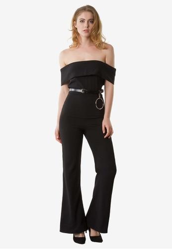 NOBASIC black Zoey Solid Black Jumpsuit NO444AA0FP66SG_1