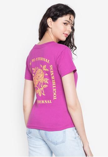 Artwork purple Togertherness T-Shirt 8C92AAAE81CA9BGS_1