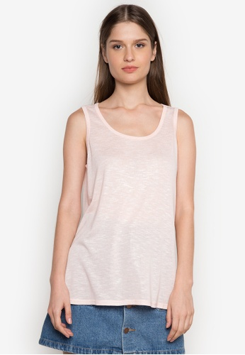 Joe Fresh pink Shimmer Tank Top JO088AA0K1N7PH_1