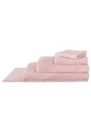 Sheridan pink Living Textures Petal Bath Towel 4D675HL12FE4EAGS_1