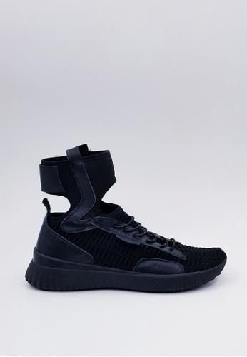 HERME MONY black Japanese Socks Breathable Casual Shoes BBA86SHA14FA8FGS_1