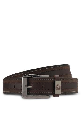 Playboy brown Playboy 40mm Belt PL371AC0SMBTMY_1