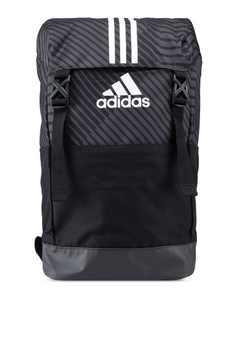 f90080266e3f4 adidas black adidas 3-stripes graphic backpack BB54AACA1D0100GS 1