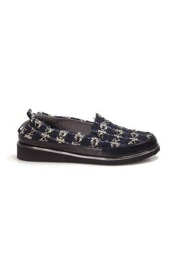 Shu Talk black XSA Tweed Fabric Stylish Sneakers 7E435SH85C4E46GS_1
