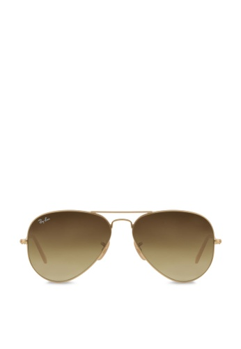 Ray-Ban Aviator Large Metal RB3025 Sunglasses RA370GL34SANSG_1