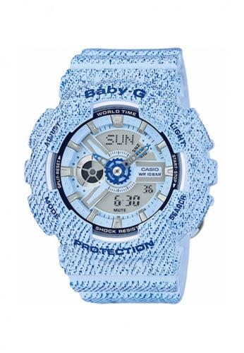 G-shock blue CASIO BABY-G BA-110DC-2A3 GS076AC64NTJMY_1