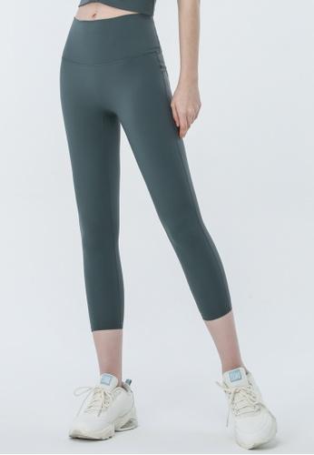 HAPPY FRIDAYS Back Pocket Capri Tights ( No front crotch  line) DSG077 BB648AAFDAB44DGS_1