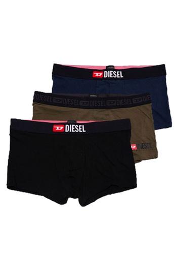 Diesel brown UMBX-DAMIENTHREEPACK BOXERS 44899US5B1A8DAGS_1